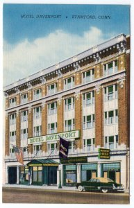 Stamford, Conn, Hotel Davenport