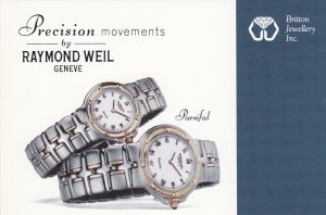 ADV, Precision Movements by Raymond Weil, Geneve Watch, Vancouver, British ...