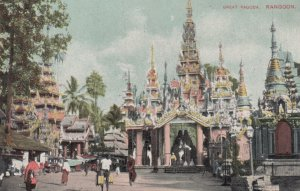 RANGOON , Burma , 00-10s ; Great Pagoda