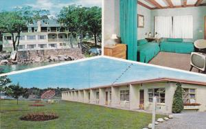 3-Views, Ivy Lea Inn and Motel Island Ho, Toronto, Ontario, Canada, 40-60s