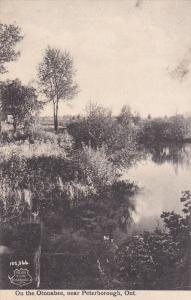 Near PETERBOROUGH, Ontario, Canada, 1900-1910's; On The Otonabee, River