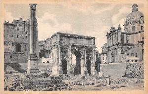 BR40670 Arco di settimio severo con le colonna di foca Roma    Italy