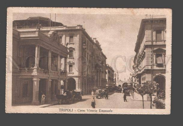 085160 LIBIA Tripoli Corso Vittorio Emanuele Vintage PC