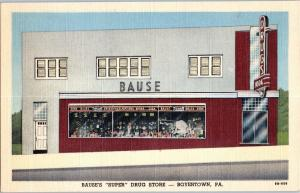 Bause's Super Drug Store, Route 73, Boyertown, Berks County, PA D3