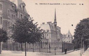 NEUILLY SUR SEINE, Hauts De Seine, France, 1900-1910s; Le Lycee Pasteur