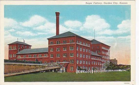 Exterior,Sugar Factory,Garden City, Kansas,30-40s