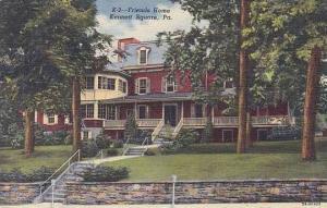 Pennsylvania Kennett Square Friends Home Curteich