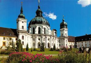 Giant Size Postcard Benediktinerabtei Kloster Ettal Abbey, Bayern, Germany OS67