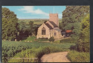 Norfolk Postcard - Nelson's Church, Burnham Thorpe     T7202