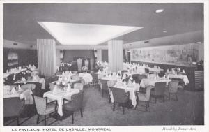 Le Pavillon , Hotel De Lasalle , MONTREAL , Quebec , Canada , 50-60s