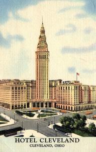 Ohio Cleveland Hotel Cleveland Curteich