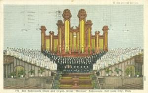 The Tabernacle Choir and Organ, Salt Lake City, Utah 1939...