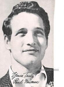 Paul Newman Movie Star Actor Actress Film Star Postcard, Old Vintage Antique ...