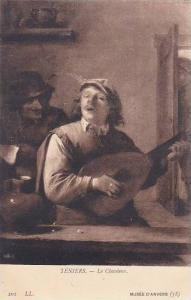 Teniers Le Chanteur Musee D'Anvers