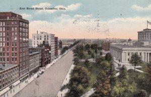 COLUMBUS , Ohio , 1917 ; East Broad Street