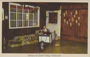 Michigan Holland Entrance To Dutch Village Restaurant