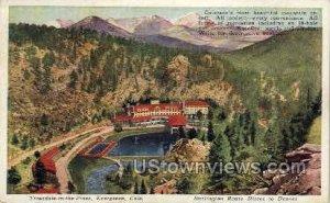 Burlington Route Direct to Denver - Evergreen, Colorado CO