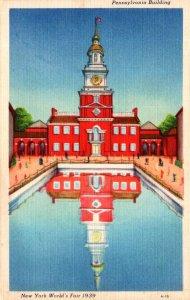 New York World's Fair 1939 The Pennsylvania Building