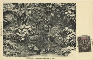comoros comores, Sultanate of Ndzuwani ANJOUAN, Source Ravine de Daji (1910)