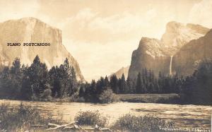 YOSEMITE,  CALIFORNIA, J.T. BOYSEN PHOTO-YOSEMITE RPPC REAL PHOTO POSTCARD