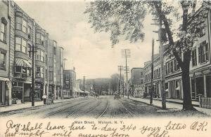 Mohawk New York~Main Street~Ice Cream~Sodas~Shakes~Stop 43~1906 Postcard