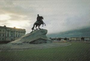 Russia Moscow Decembrists' Square Peter The Great Monument