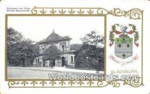 Corporation Park Gates Blackburn UK, England, Great Britain Unused