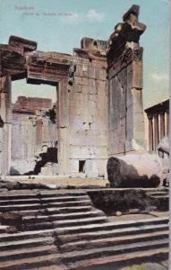 Portre du Temple de soleil, BAALBEK, Lebanon, 00-10s