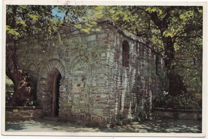 Virgin Mary's House, Ephesus, 1963 used Postcard