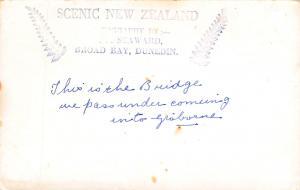 Gisbourne, New Zealand, Early Real Photo Postcard, Unused