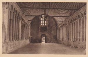 France Abbaye du Mont Saint-Michel Refectoire des Moines
