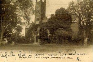 MA - Northampton. Smith College, College Hall