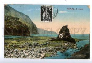 138257 Portugal MADEIRA S. Vicente Vintage postcard
