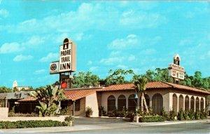 Padre Trail Inn Hotel Circle San Diego Vintage California Postcard