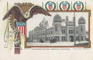 DAYTON , Ohio, 1900-10s; Soldier's Home , Quartermasters Department