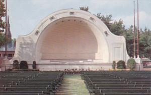 OSHAWA, Ontario, Canada, 1940-1960´s; The Bandshell