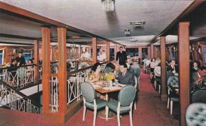 Interior View, Dining Room Aboard S.S. Lady Alexandra Floating Restaurant, Va...