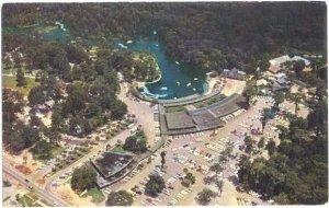 Air View of Florida's Silver Springs FL, Chrome