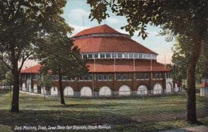 Iowa Des Moines Stock Pavilion At Iowa State Fair Grounds