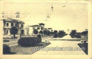 Avenida Carlos Miguel de Cespedes Habana Republic of Cuba 1932 Missing Stamp