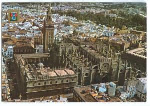 Spain, Sevilla, Seville, General view, 1985 used Postcard