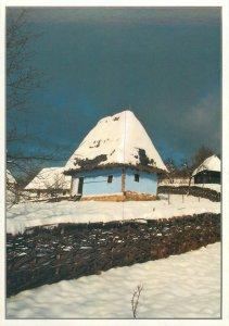 Romania Postcard Baia Mare Muzeul Satului Casa Prislop