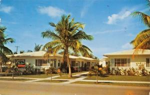 WEST PALM BEACH FLORIDA~PAR QUANA MOTOR COURT-2901 BROADWAY POSTCARD 1967 PMK