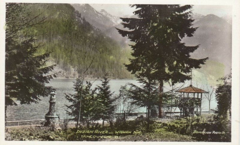 RP, VANCOUVER, British Columbia, Canada, 1920-1940s; Indian River, Wigwam Inn