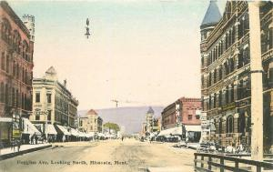 C-1910 Heggins Avenue Looking North Missoula Montana hand colored 9210