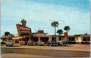 Daytona Beach, Florida Postcard Morrison's IMPERIAL HOUSE RESTAURANT c1950s