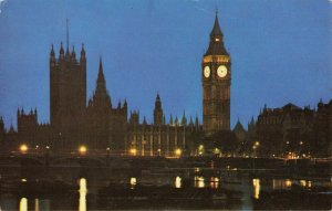 Postcard PAN AM London's Houses of Parliament