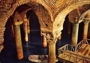 Turkey Istanbul The Underground Cistern Postcard