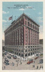 SPOKANE , Washington , 1910s ; Davenport Hotel