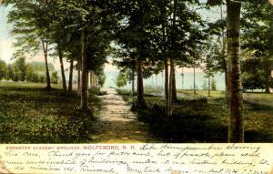 NH - Wolfeboro. Brewster Academy Grounds